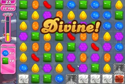 divine candy crush done