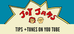 Watch our Joy Jams videos on YouTube