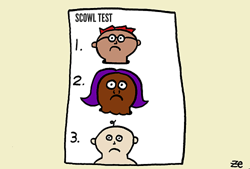 Can You Pass the Scowl Test?