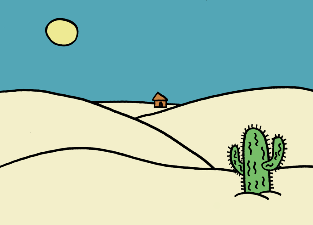 little-hut-in-desert