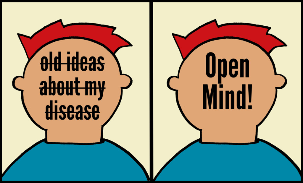 old ideas and open mind