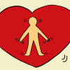blog.heart with person in it