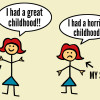 blog.i had a great childhood and my sister didn't