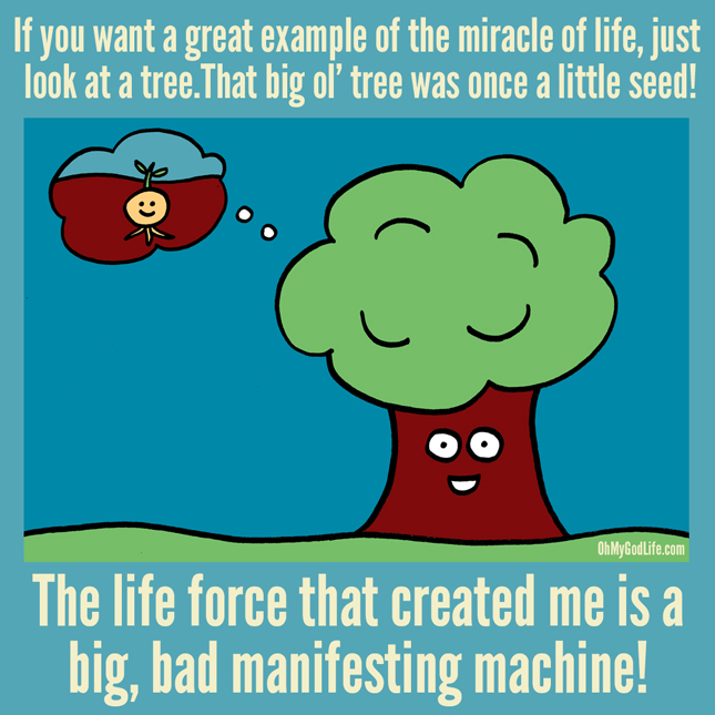 Big, Bad, Manifesting Machine